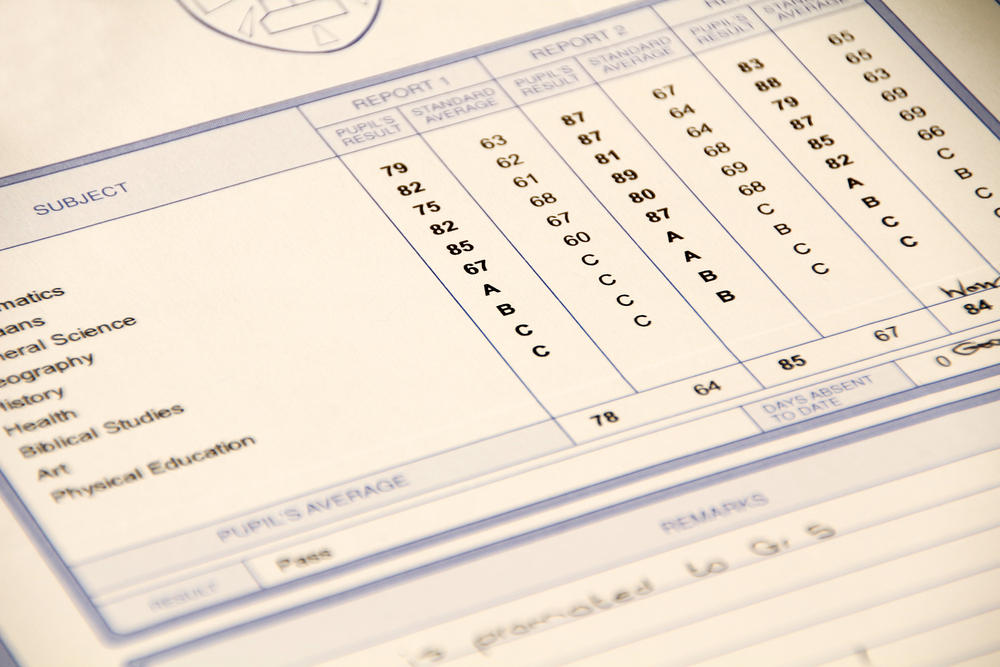 How Should Parents Handle a Bad Report Card?